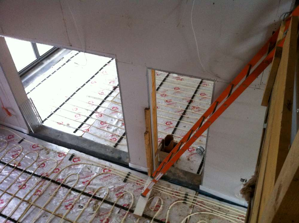 On Screed Underfloor Heating in Sevenoaks