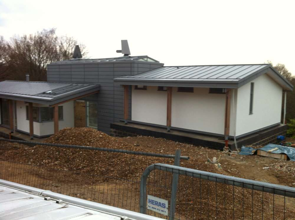 Self Build Orpington Air Source Heat Pump Platform