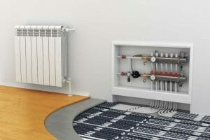 Residential Underfloor heating