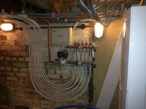 Underfloor Heating and Basement Manifold in Tunbridge Wells
